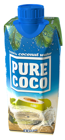 330ml Pure Coco coconut water