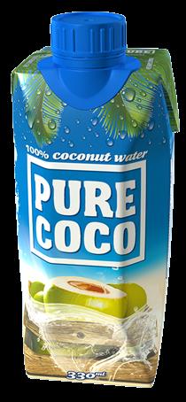 330ml Pure Coco kokosová voda
