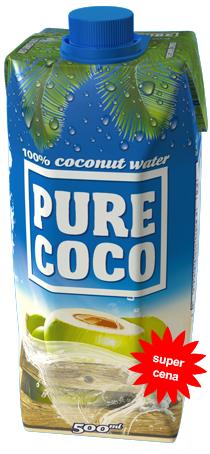 500ml Pure Coco kokosová voda